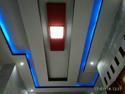 Harga Pasang Plafon Gypsum Minimalis Drop Ceiling Wonogiri