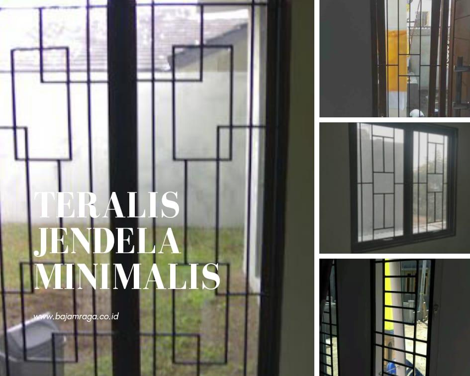 Merancang Desain Teralis Jendela Dengan Menggunakan Besi Beton Ulir