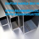 Besi Hollow 5×10 1.2mm Per Batang Solo